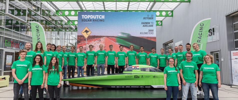 Top Dutch Solar Racing in Australië